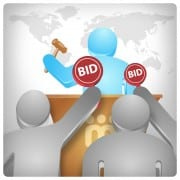 unlimited penny auction bids